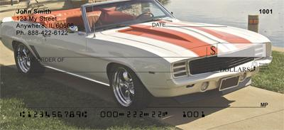 Classic Muscle Cars Checks, Classic Muscle Cars Personal ...