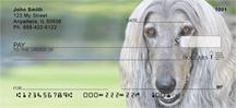 Grey Afghan Hounds