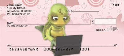 Fun Turtle Checks, Fun Turtle Personal Checks