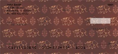 Indian Elephant Pattern
