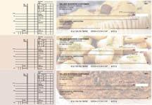 Bakery Multi Purpose Designer Business Checks