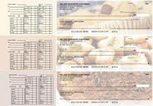 Bakery Payroll Designer Business Checks