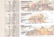 Chinese Cuisine Multi Purpose Designer Business Checks
