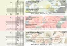 Florist Multi Purpose Designer Business Checks