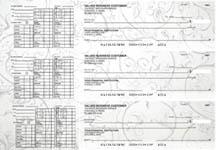 Vintage Payroll Designer Business Checks