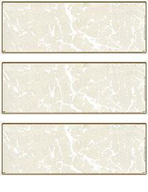 Tan Marble Blank Stock For 3 to a Page Voucher Computer Checks
