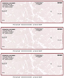 Burgundy Marble Laser Business 3 to a Page Voucher Checks