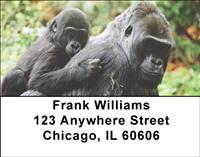 Tender Gorillas Address Labels