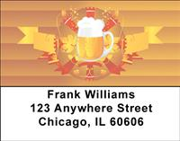 Beer Vignette Address Labels