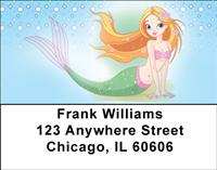Mermaids Address Labels