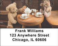 Active Teddy Bears Address Labels