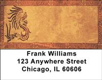 Native American Artwork Address Labels