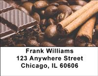 Chocolate Sin Address Labels