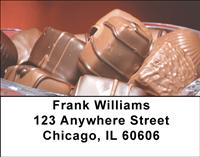 Chocolate Candies Address Labels