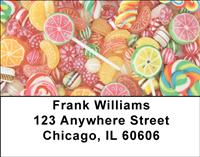 Party Candy Mix Address Labels