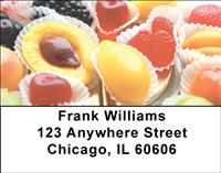 Fruity Candies Address Labels