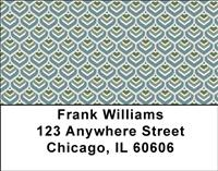 Peacock Patterns Address Labels