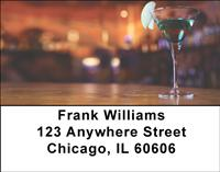Cocktail Time Address Labels