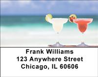 Tropical Cocktails Address Labels