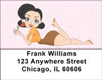Pin Up Girls Address Labels