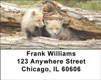 Red Fox Kits Address Labels