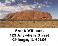 Ayers Rock Address Labels