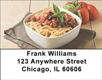 Italian Pasta Address Labels