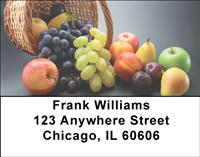 Fruit Basket Address Labels