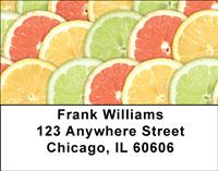 Fruit Slices Address Labels