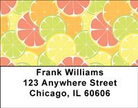 Citrus Fruit Address Labels
