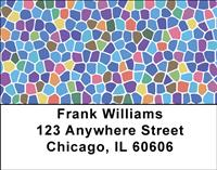 Abstract Mosaic Address Labels