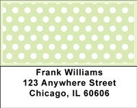 Bright Polka Dots Address Labels