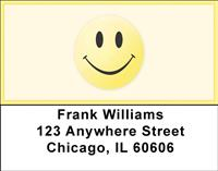 Classic Smiley Face Address Labels