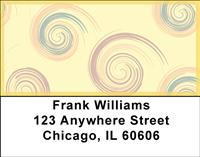 Swirlies Address Labels