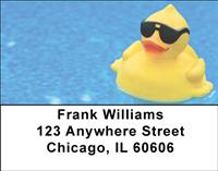 Rubber Ducks Address Labels