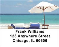 Beautiful Beaches Address Labels