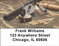 Hunting Supplies Address Labels