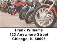 Motorcycles Address Labels