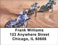Dirt Bike Racing Address Labels