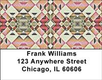 Native American Patterns Address Labels
