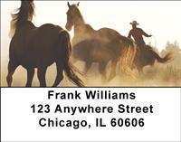 Cowboys Address Labels