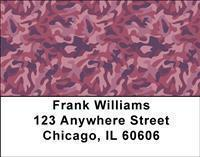 Colorful Camo Address Labels