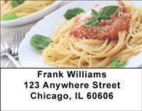 Pasta Perfection Address Labels