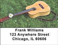 Acoustic Guitars Address Labels