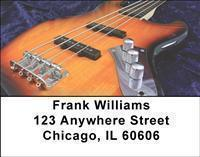 Bass Guitars Address Labels