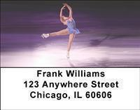 Figure Skating Address Labels