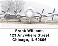 Turboprop Airplanes Address Labels