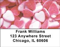Candy Hearts Address Labels