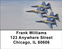 Blue Angels Address Labels