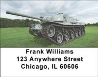 Army Tanks Address Labels